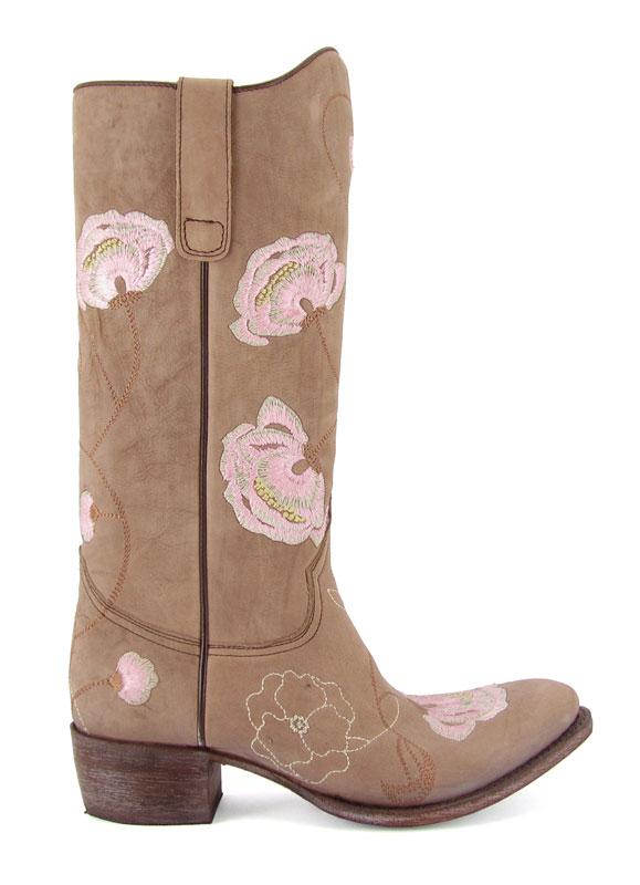 Cowboys And Kisses Stivali Texani Camperos Abbigliamento Per